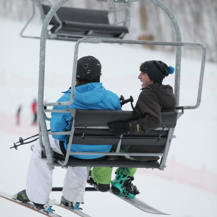 Ski lift at Adanac