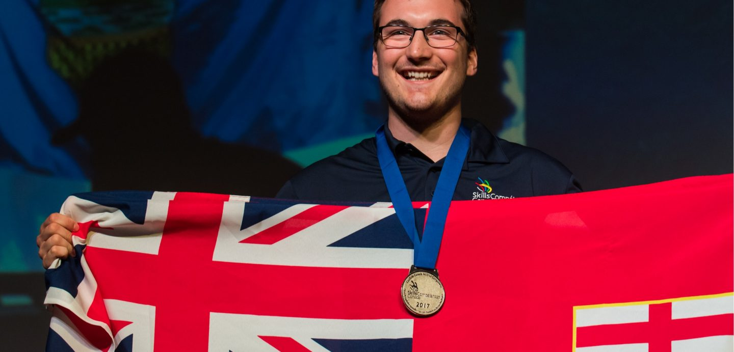 Cambrian Electrical Engineering Technology graduate Maxime Marineau earned a national silver medal at the Skills Canada Competition in Winnipeg on June 3.