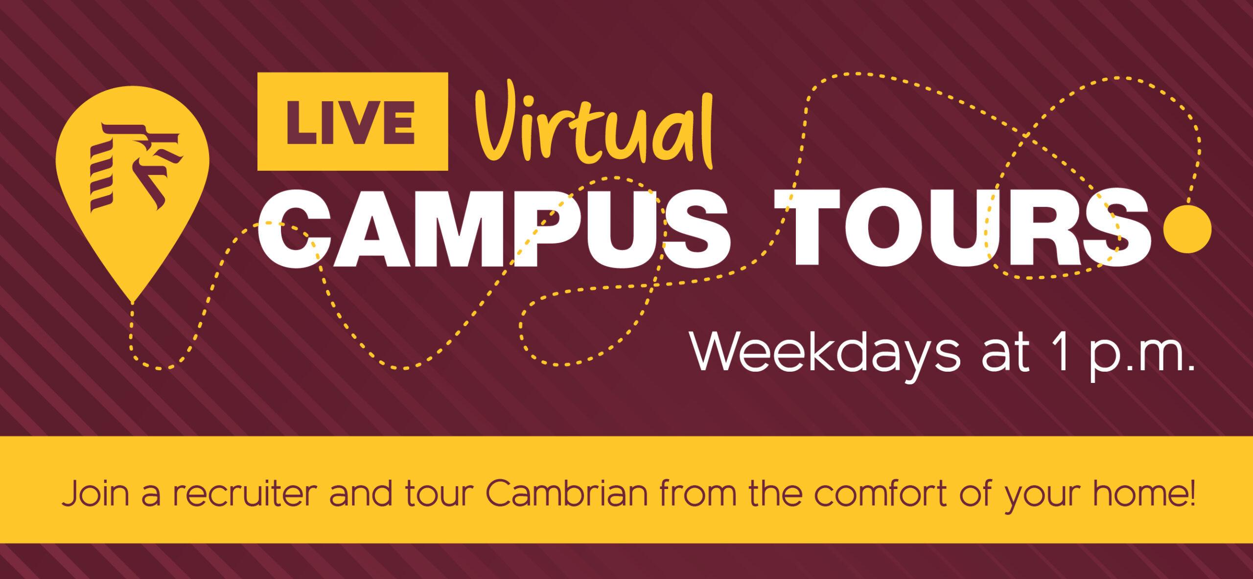 Book a Virtual Campus Tour at Cambrian College